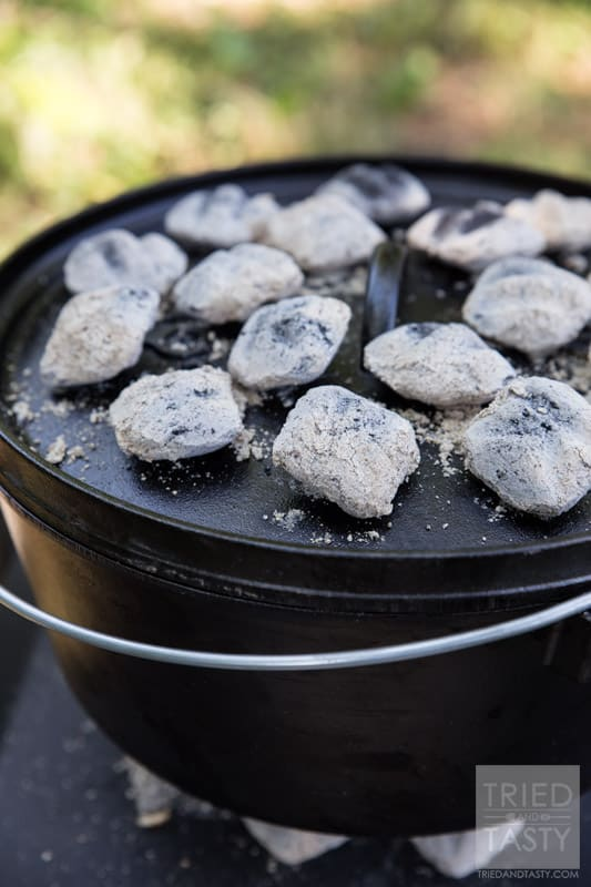 You won't find an easier dutch oven dessert recipe. These delicious Dutch Oven Sweet Petals made with Rhodes Bake N Serv rolls is absolutely wonderful. Add a drizzle of cream cheese frosting and you've got a match made in heaven!