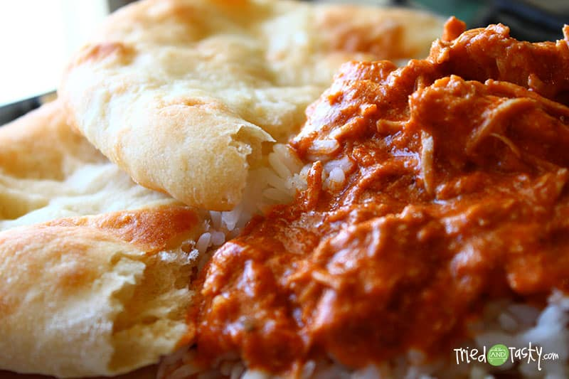 Oven Baked Naan // Tried and Tasty