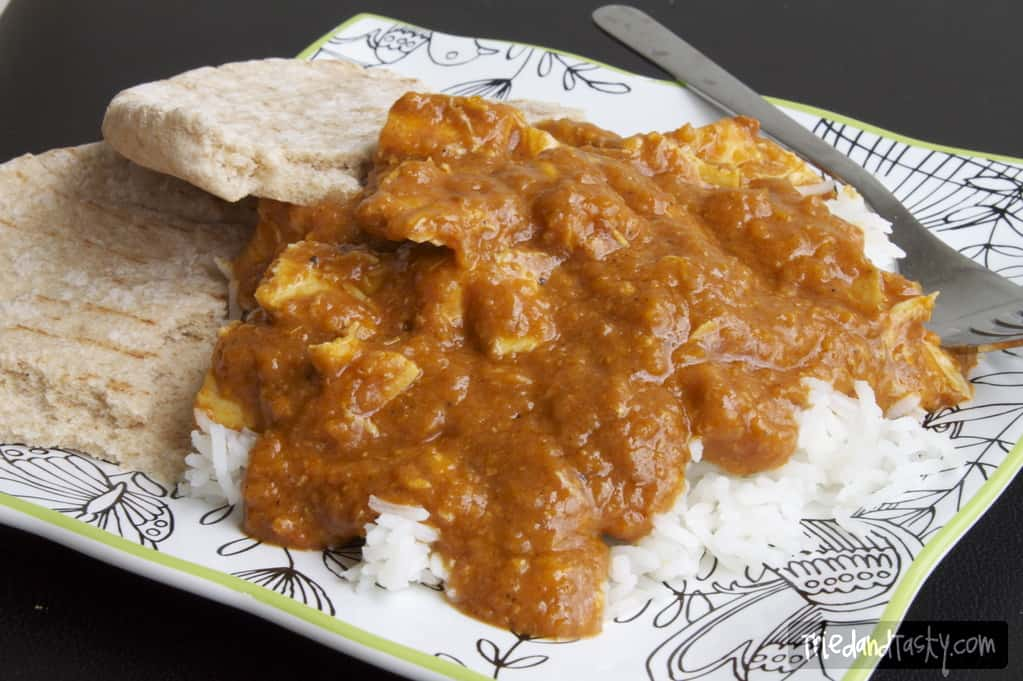 Slow Cooker Coconut Chicken Curry // Tried and Tasty