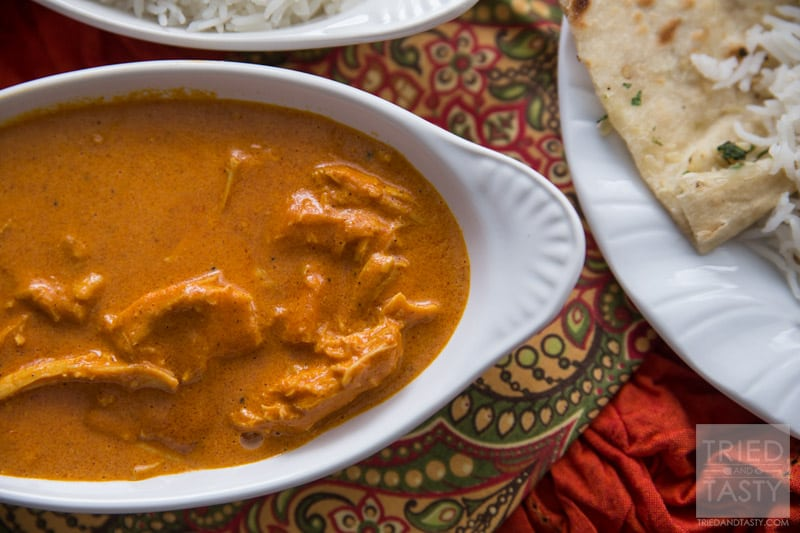 Slow cooker indian butter chicken tried and tasty slow cooker easy indian butter chicken if you have never tried indian food love chicken tikka masala forumfinder Images
