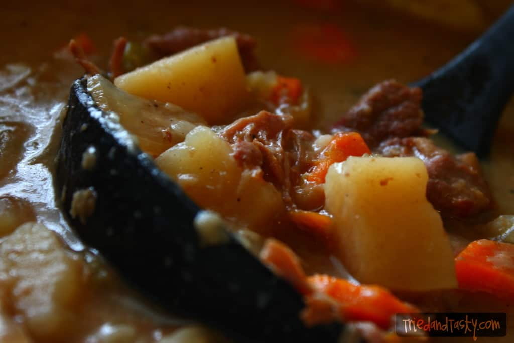 Crock POt Beef Stew // Tried and Tasty
