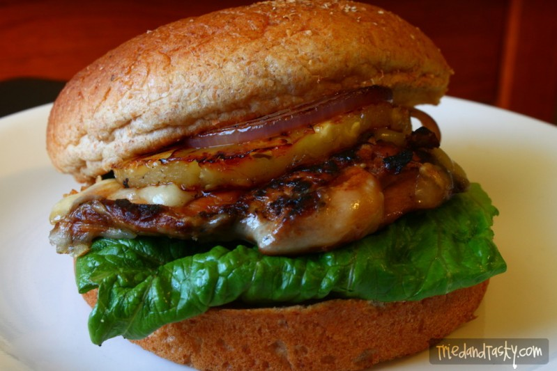 Grilled Chicken and Pineapple Sandwich - Tried and Tasty
