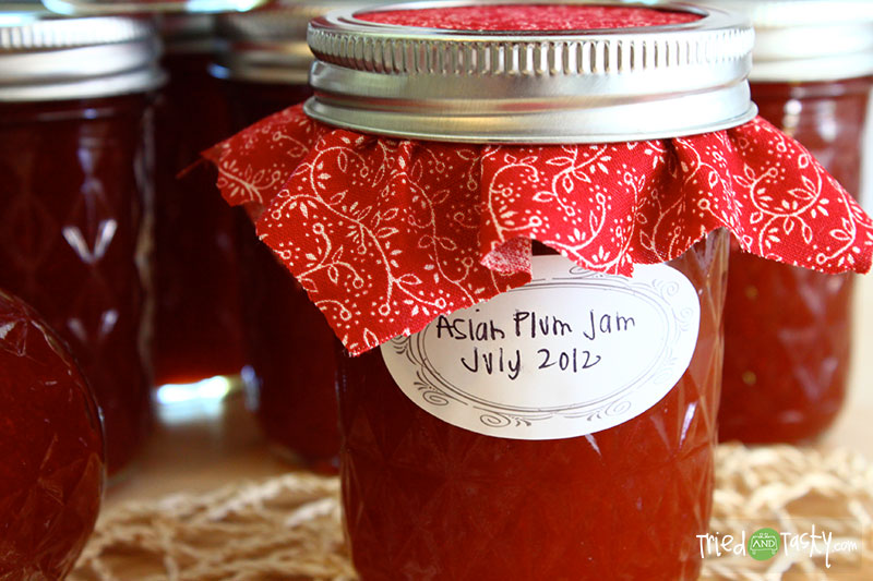 Plum Jam // Canning is fun to learn, especially when you can delicious things such as Plum Jam! | Tried and Tasty