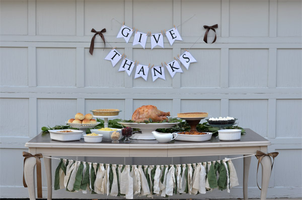 A Blogger Thanksgiving // TriedandTasty