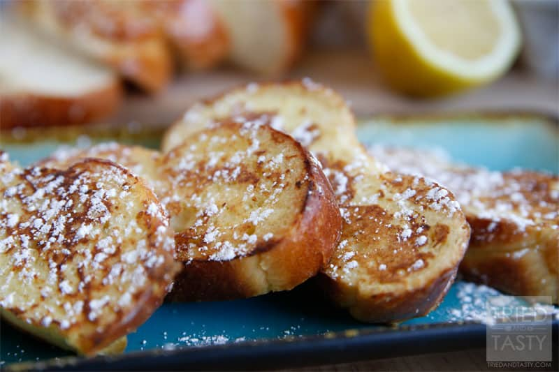 Lemon French Toast Recipe // Tried and Tasty