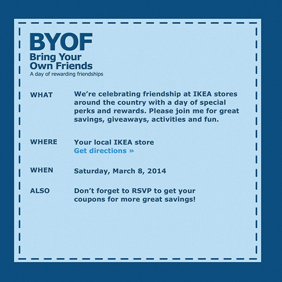 3rd Annual IKEA BYOF {Bring Your Own Friend} Event // Tried and Tasty