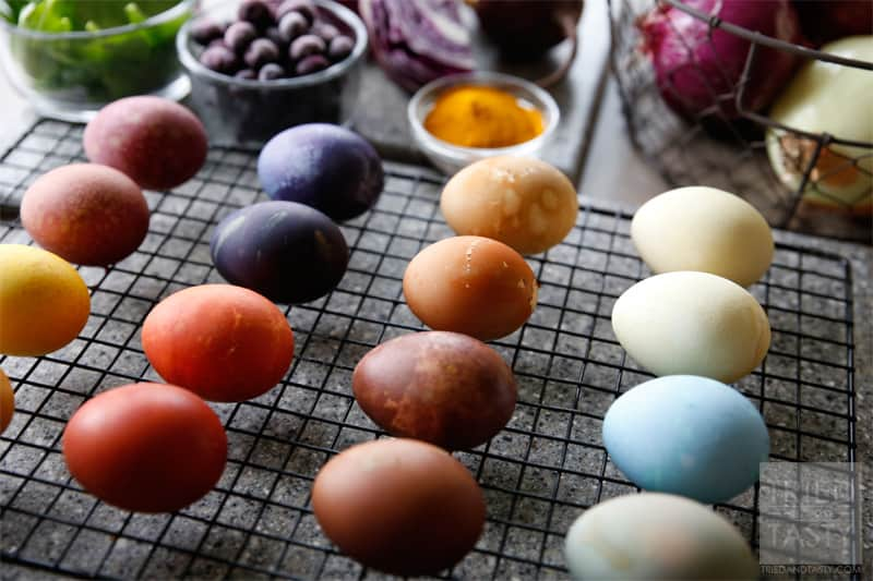 Natural easter egg dye recipes tried and tasty natural easter egg dye recipes a great alternative to using artificial food coloring for forumfinder