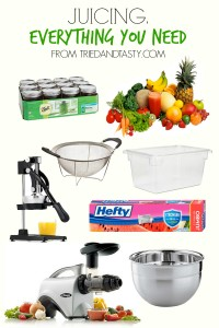 Juicing. Everything You Need // Tried and Tasty