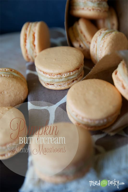 Pumpkin Macarons // Tried and Tasty