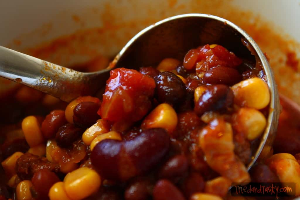 Quick & Easy Chili // Tried and Tasty