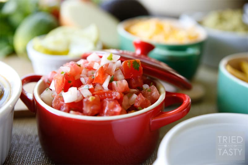 Pico de Gallo // Tried and Tasty