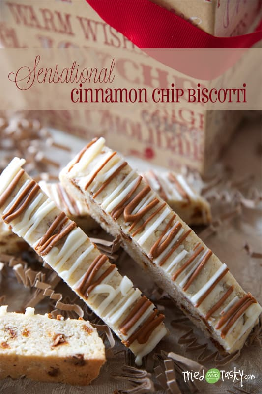 Cinnamon Chip Biscotti // Tried and Tasty
