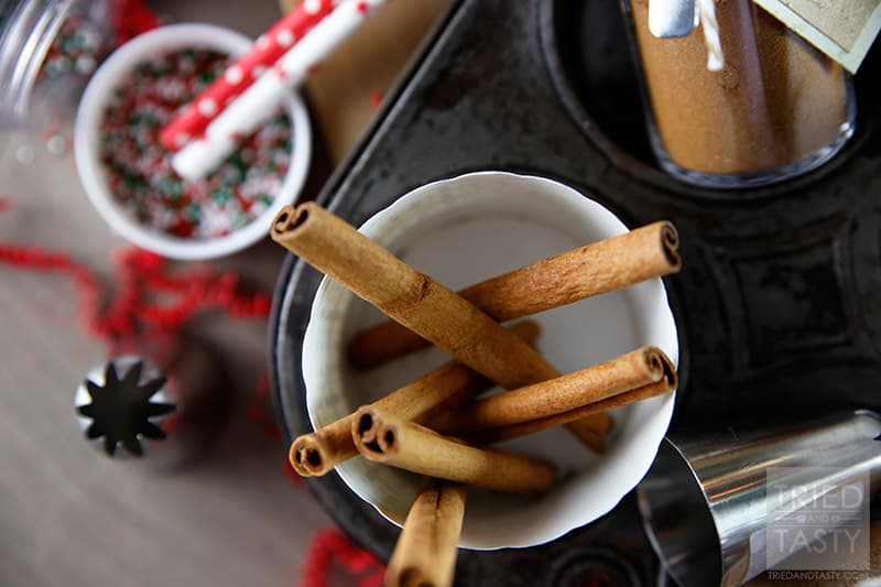 Homemade Baking Spice Mixes // These baking spice mixes are great to have around during the holidays, keep this recipe handy. You'll need it! | Tried and Tasty