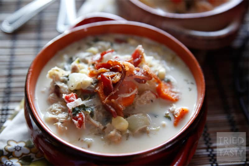 Turkey & Potato Corn Chowder // Tried and Tasty