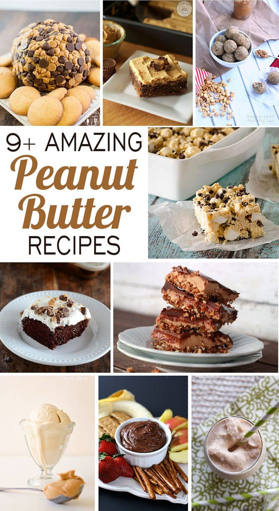 Celebrating Food // Peanut Butter Recipes