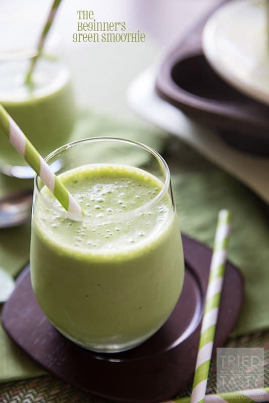 The Beginners' Green Smoothie // Tried and Tasty