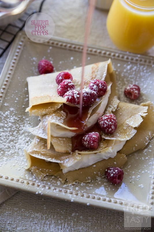 Gluten Free Crepes // Tried and Tasty