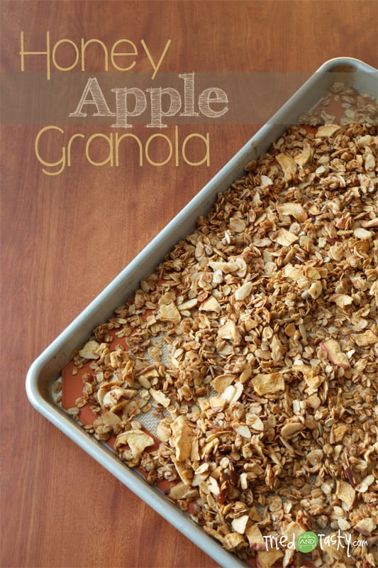 Honey Apple Granola // Tried and Tasty