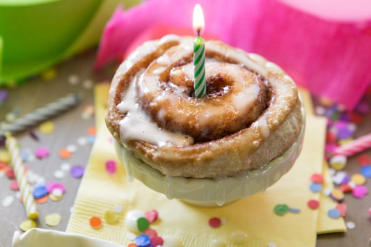 Celebrate With Rhodes Microwave Cinnamon Rolls Tried And Tasty