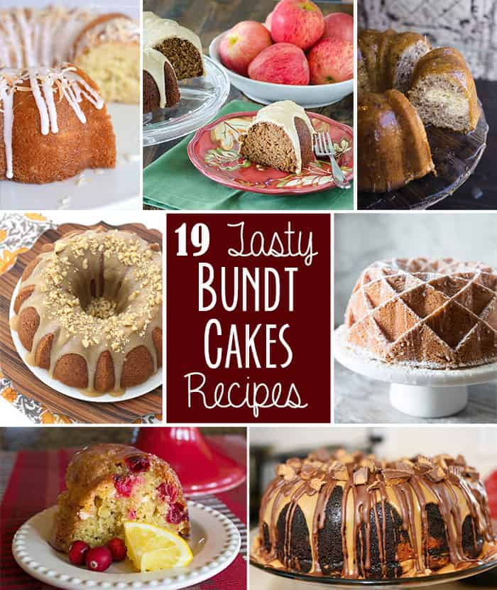 19 Tasty Bundt Cake Recipes // Tried and Tasty