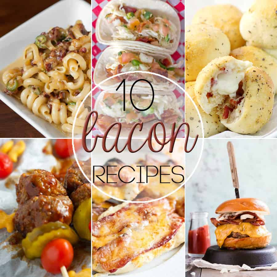 10 Recipes for the Bacon Lover // Tried and Tasty