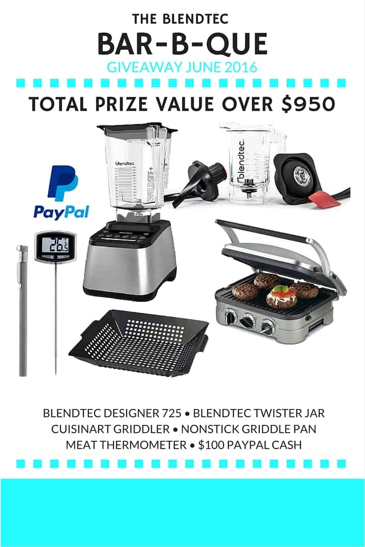 Blendtec BBQ Giveaway // Tried and Tasty