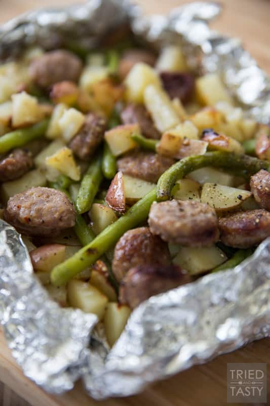 Italian Sausage Tin Foil Dinner Want A Meal That Can Double As An At