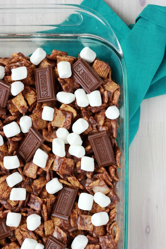 Smore Cereal Treats // One Sweet Appetite