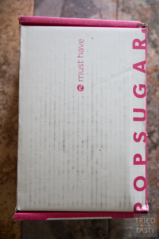 What's in my PopSugar Must Have Box? | POPSUGAR sent me this Must Have Box to try, and after seeing my goodies - you'll want one too! Come see what all the fuss is about PLUS snag a nifty coupon for your first box! #MustHaveBox | Tried and Tasty