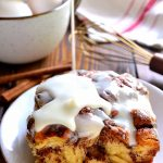 Cinnamon Roll French Toast Casserole // Lemon Tree Dwelling