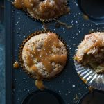 Caramel Apple Muffins // Nothing screams fall like a caramel apple. Now you can have your favorite treat for breakfast OR dessert in the form of a delicious muffin! | Tried and Tasty