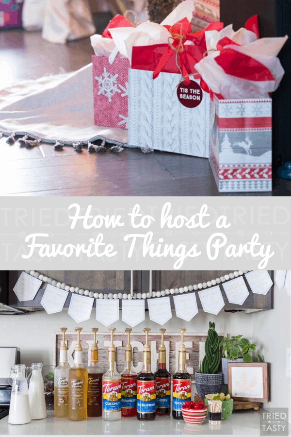 How To Host a Favorite Things Party: Step By Step Guide